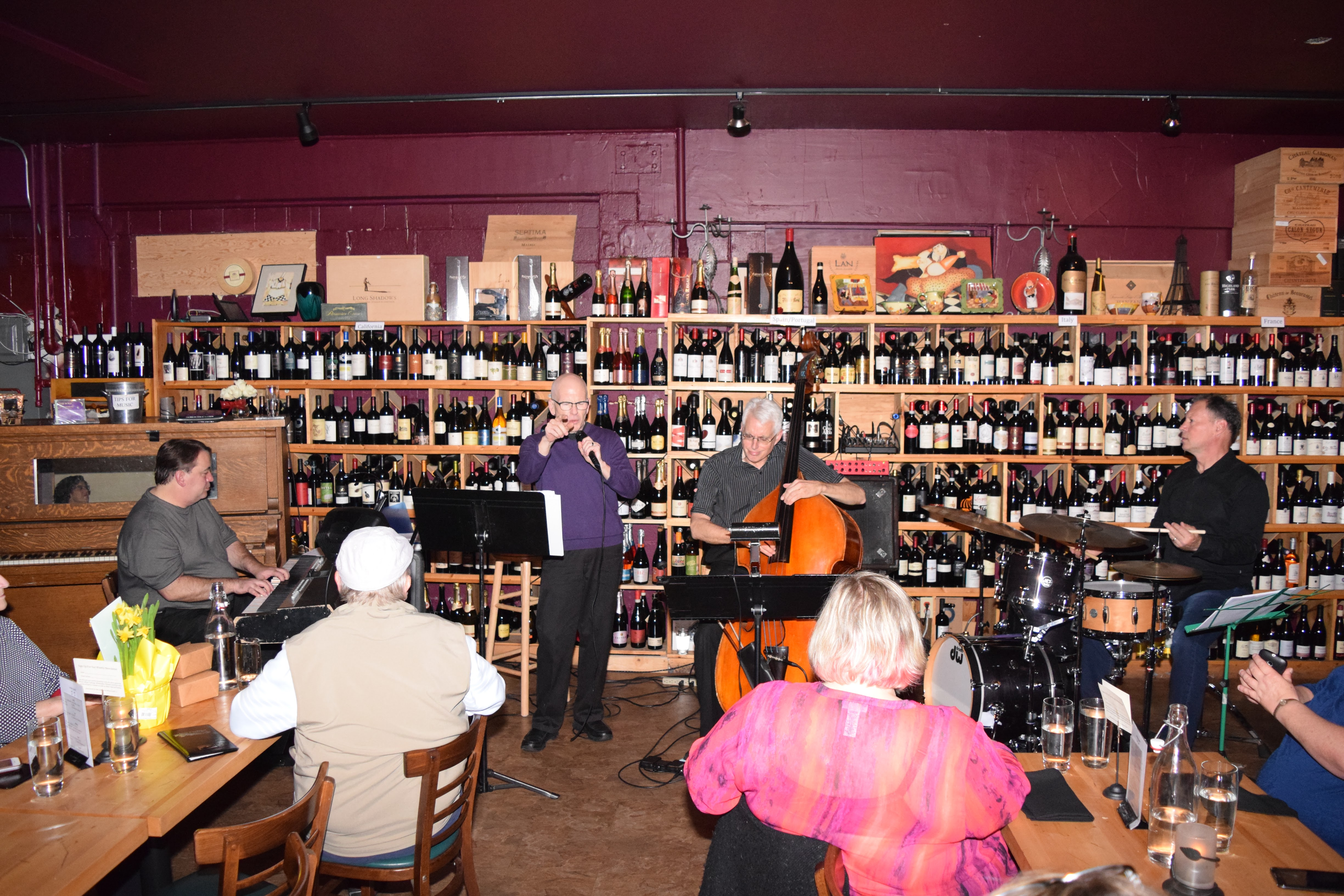 Todd Hymas with the Darin Clendenin Trio