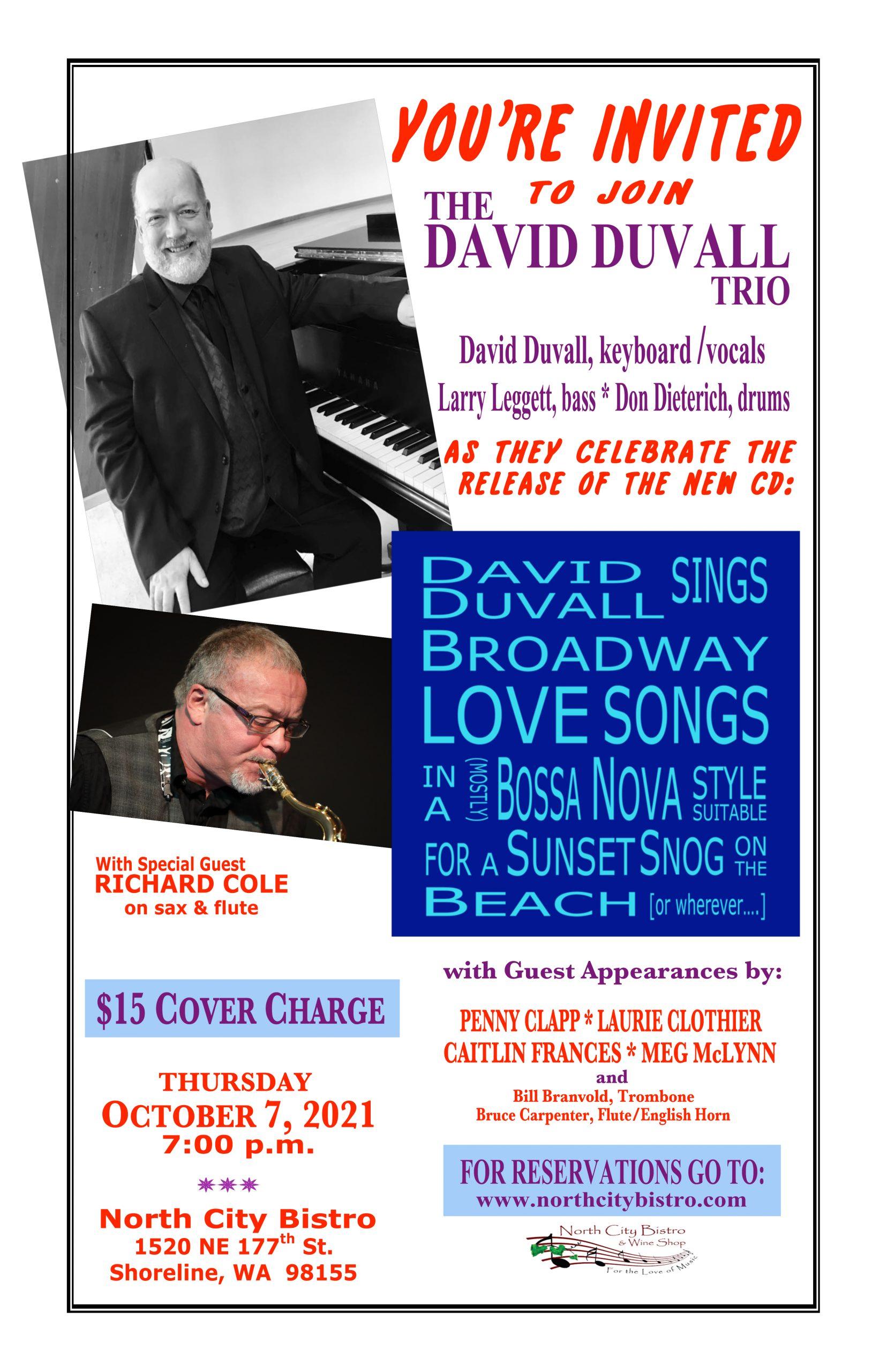David Duvall Trio