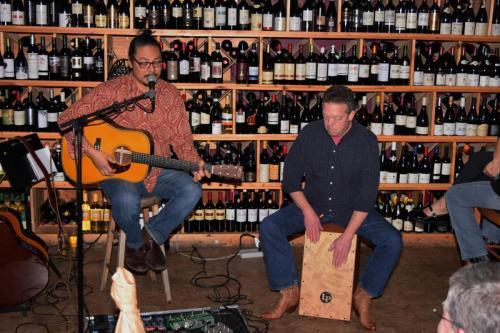 Danny Godinez with Phil Riddel